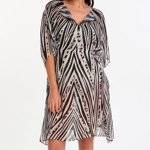 Gottex star leopard cover up